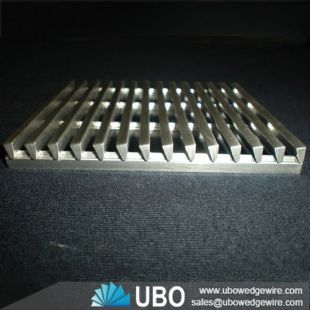 Corrosion resistance wedge wire screen fish diversion screen panel