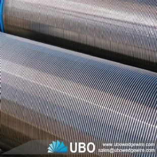 Wire-wrapped of stainless steel pipe