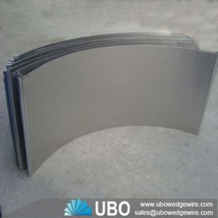 Stainless Steel V Wire Welded Sieve Bend Screen