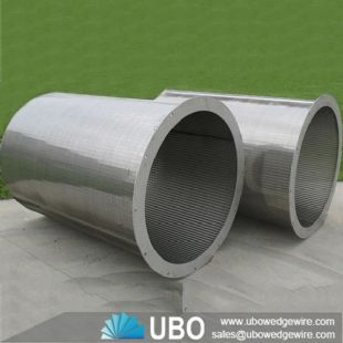 weld wire wrap johnson screen cylinder for Water Process & Fluid Treatment