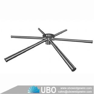 ASTM 316L wedge wire hub laterals systems for Sand filters