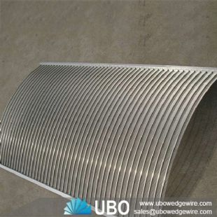 high quality wedge wire stainless steel sieve bend screen for Industrial