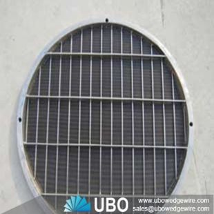 Stainless Steel Wedge Wire Circular Sieve Plate