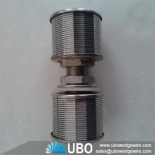 Stainless Steel Johnson Screen Water Well Screen Nozzle