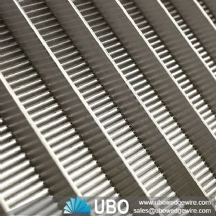 Reinforced stainless steel wedge wire screen panel for pulp screening and fractionation