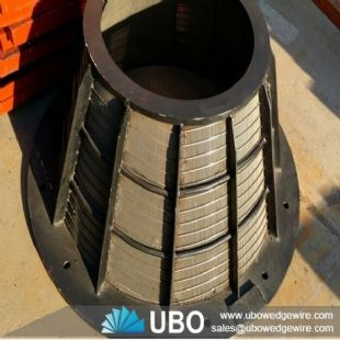 SUS316L industrial centrifuge basket for storing material