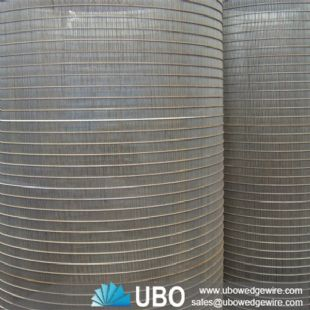 Stainless steel 304L Inclined Rotary Drum Screen factory