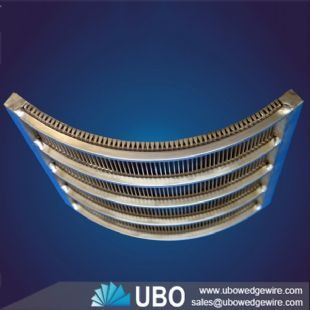 Supply wedge wire Sieve Bend Screen for fish diversion industry