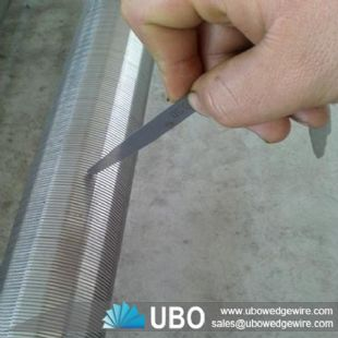 Johnson durable wedge wire screen for oil well drilling