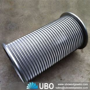 wedge wire screen for purified wanter treatment