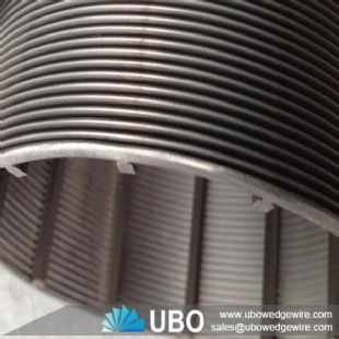 wedge loop wire screen tube for industry filtration