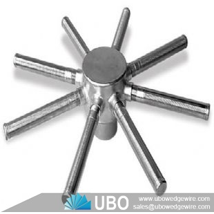 wedge wire stainless steel hub lateral