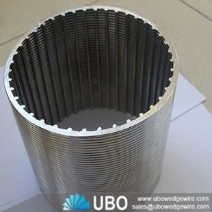 water slot well screen tube for filtration