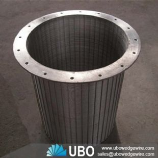SS Rotary Drum Fine Screen for booster pump stations