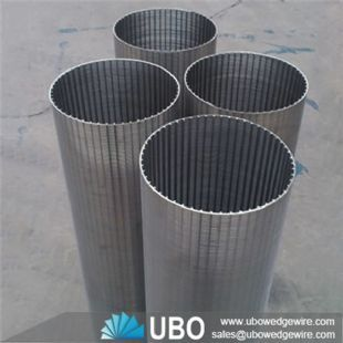 wedge wire cylinder screen for industry process