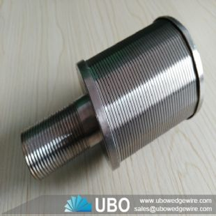SS Wedge Wire Screen Nozzle Filter for Water Treatment