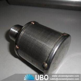stainless steel liquid filter nozzle