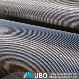 Self-cleaning Wedge Wire Screen Casing Pipe