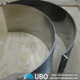 Wedge Wire Sieve Bend Screen for Coal Mining