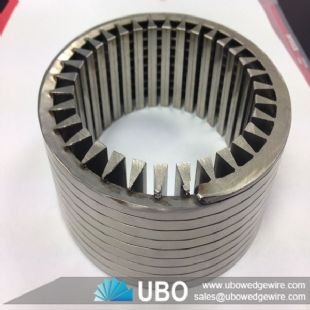 Wrap slot stainless steel wire screen pipe for filtration