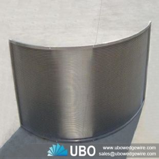 SS wedge wire curve screen supplier