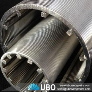 stainless steel continuous slot wire wrap well screens
