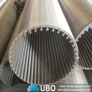 Processing customization high quality welded wedge wire screen