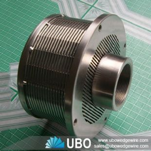 wedge wire filter nozzle for liquid filtration