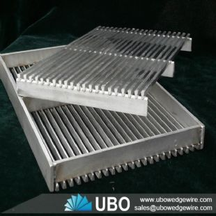 stainless steel screen panel for separation media