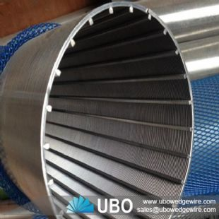 stainless steel wedge wire filter for liquid filtration