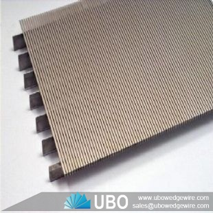 wedge wire slot screen panel