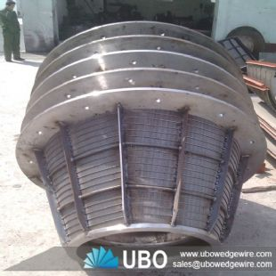 wedge wire sieve screen basket for filtration