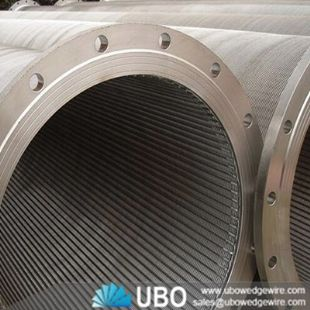 Wedge Wire Filtering Tube for Well Drilling
