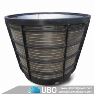 Stainless steel centrifuge wedge wire mesh sieve basket screen