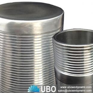 stainless steel wedge wire welded screen for Resin Traps