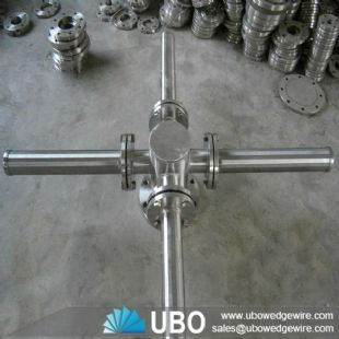 Stainless Steel Wedge wire screen Header hub Laterals