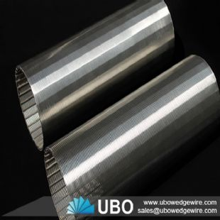 stainless steel wedge wire screen cylinder for filtration